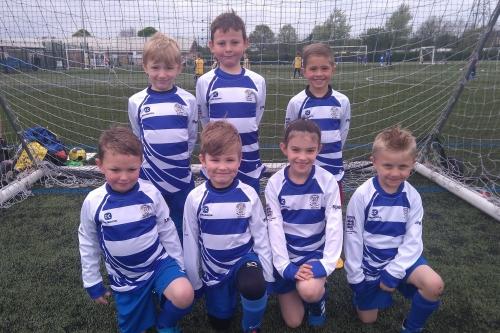 Chippenham Town Youth FC U7 Team Shot