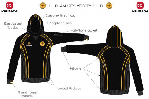 Durham City Hockey Club PRO ELITE MAX Hoodie