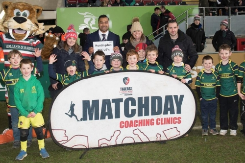 Huntingdon Stags U7S Visit Leicester Tigers