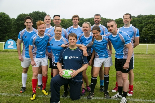 Maersk Oil Touch Rugby Team