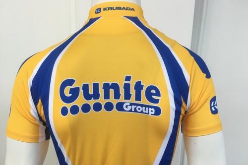 Gunite PRO Cycling Jersey (back)