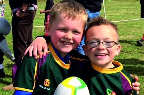 Minis tag rugby
