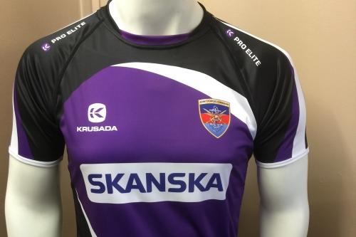 RAF Wyton JFC Rugby PRO ELITE Warm-up T-shirt